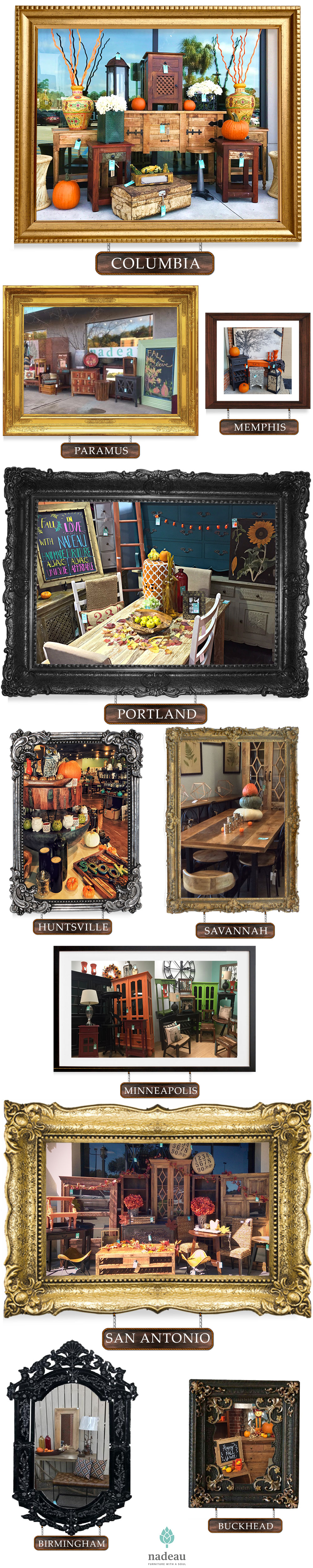 Rustic, Soulful, and Spooky: It's Feeling Like Fall at Nadeau!